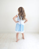 Princess Cinderella Everyday Knit Girls Dress - costume cosplay