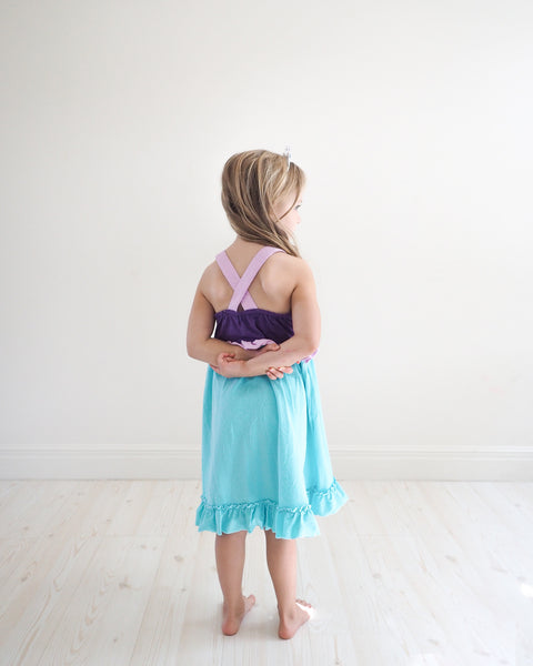 Princess Ariel Everyday Knit Dress - the little mermaid