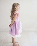 Princess Rapunzel Everyday Knit Girls Dress - Tangled Inspired