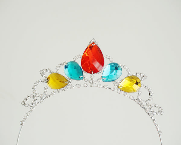Princess Elena Tiara - Elena of Avalor Inspired Girls Crystal Rhinestone Crown