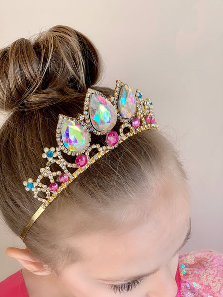 Princess Rapunzel Tiara - Tangled inspired princess crown