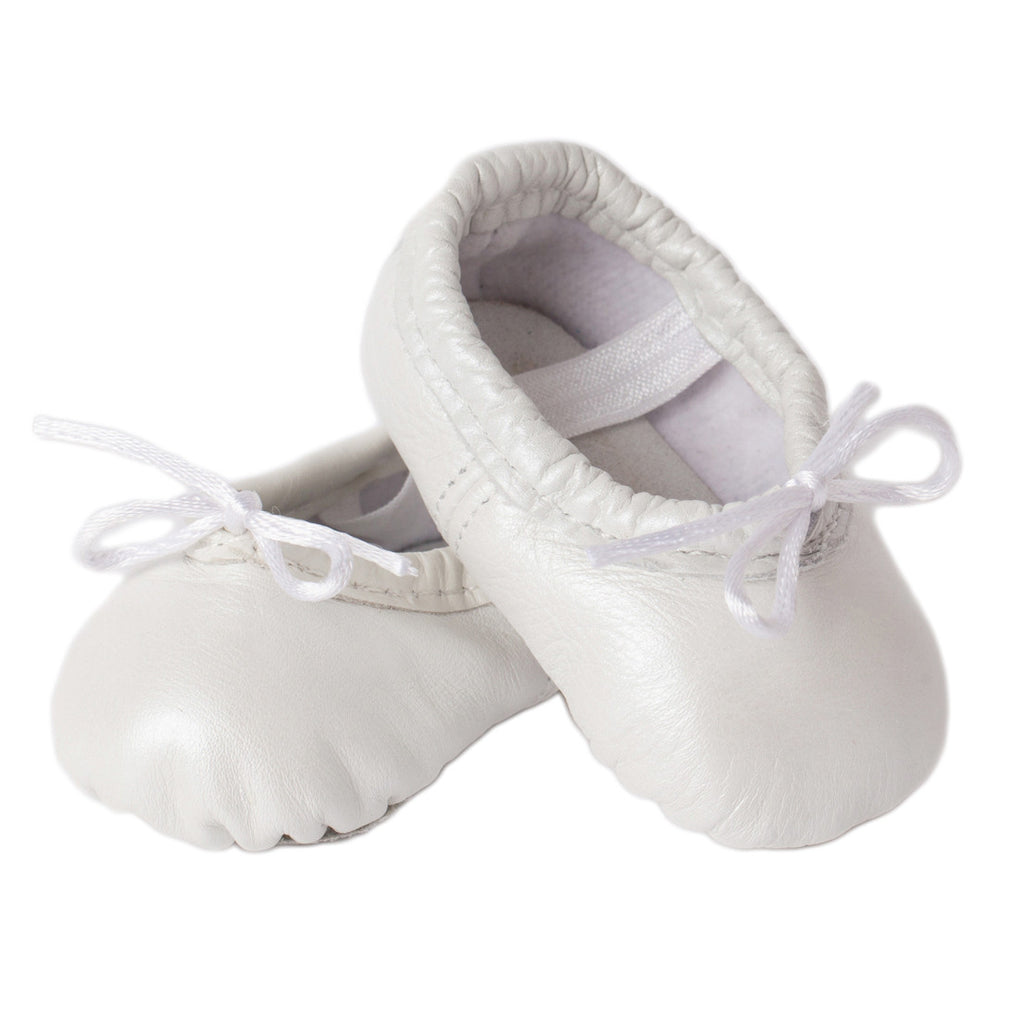Girls Ivory Ballet Shoes
