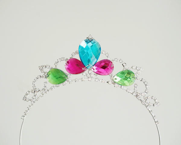 Princess Queen Elsa Tiara - Frozen Fever Inspired Girls Crown