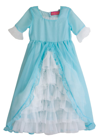 Madame Royale Vintage Style Flower Girl Dress - Tiffany Blue