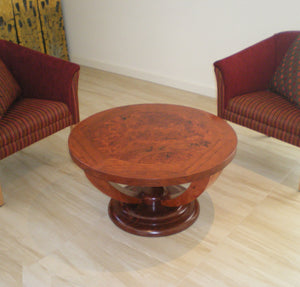 Deco Coffee Table Round