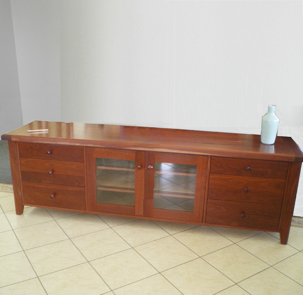 Red Jacket TV Unit