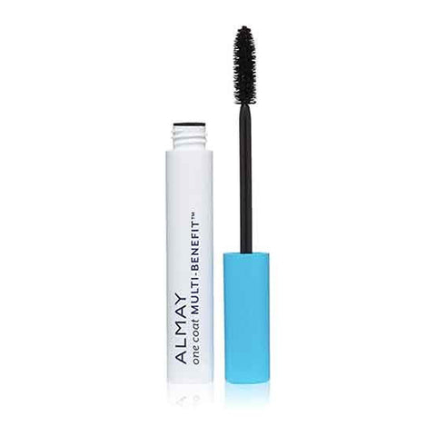ALMAY One Coat Multi-Benefit Mascara, 501 Blackest Black