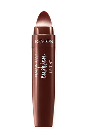 REVLON Kiss Cushion Lip Tint Stain, 280 Chocolate Pop