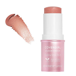CoverGirl Cooling Glow Highlighter Stick, 100 Pink Thrill