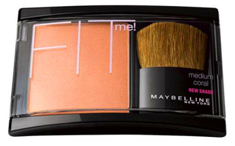 MAYBELLINE Fit Me! Blush, 202 Medium Coral