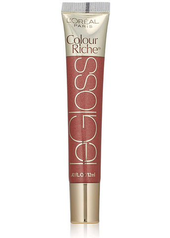 LOREAL Colour Riche Le Gloss Lip Gloss, 155 Saucy Mauve