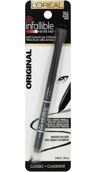 LOREAL Infallible Never Fail Original Mechanical Eyeliner, 511 Black