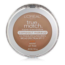 LOREAL True Match Super Blendable Compact Makeup, n4 Buff Beige