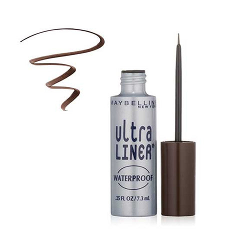 MAYBELLINE Ultra Liner Liquid Eyeliner, 302 Dark Brown