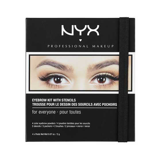 NYX Eyebrow Kit with Stencils, EBKS01