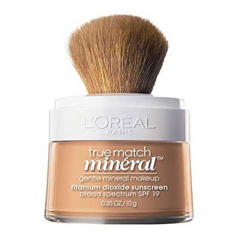 LOREAL True Match Naturale Mineral Powder Foundation Makeup, n4-5 Buff Beige