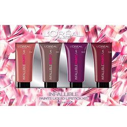 LOREAL Infallible Paints Liquid Lipstick Kit