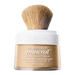 LOREAL True Match Naturale Mineral Powder Foundation Makeup, c3 Creamy Natural