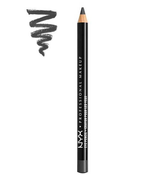 NYX Slim Eye and Eyebrow Pencil, 912 Charcoal