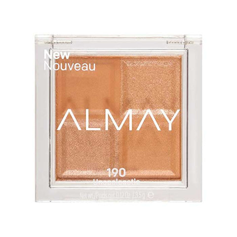 ALMAY Eyeshadow Quad, 150 Pure Gold, Baby