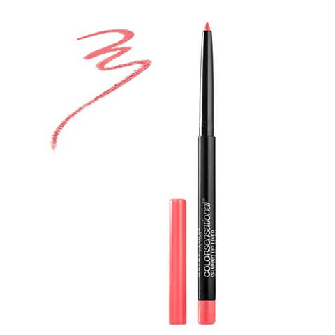 MAYBELLINE Color Sensational Shaping Lip Liner, 140 Pink Coral