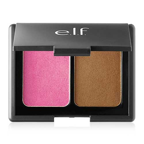 e.l.f. Aqua Beauty Blush and Bronzer, 57039 Bronzed Violet