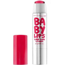 MAYBELLINE Baby Lips Color Balm Crayon, 25 Refreshing Red
