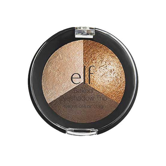 e.l.f. Baked Trio Eyeshadow, 81292 Brown Bonanza