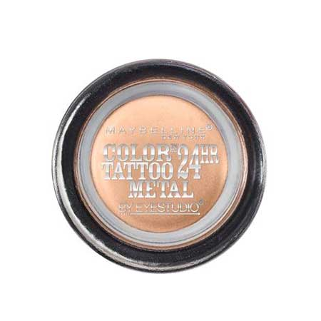 MAYBELLINE Color Tattoo 24 Hour Eyeshadow, 70 Barely Branded