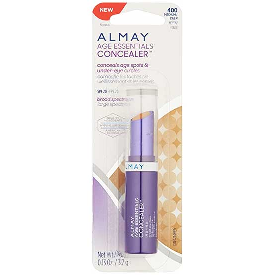 ALMAY Age Essentials Concealer, 400 Medium/Deep