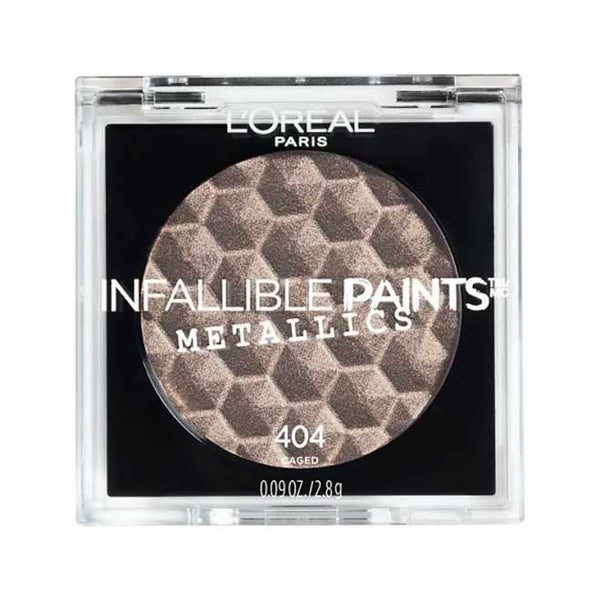 LOREAL Infallible Paints Metallics Eyeshadow, 404 Caged