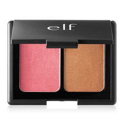 e.l.f. Aqua Beauty Blush and Bronzer, 57038 Bronzed Pink Beige