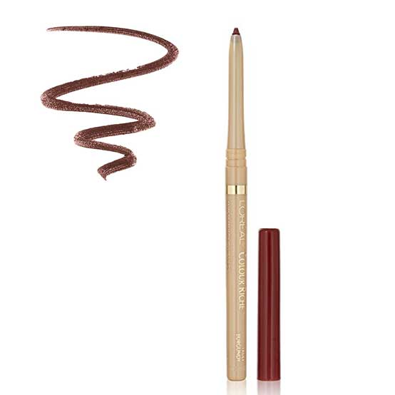 LOREAL Colour Riche Lip Liner, 773 Truly Burgundy