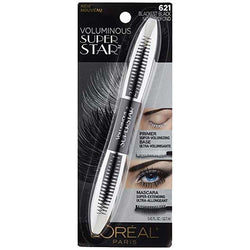 LOREAL Voluminous Super Star Mascara, 621 Blackest Black