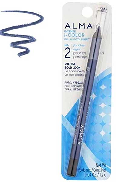ALMAY Intense i-Color Gel Smooth Eyeliner, 032 Navy