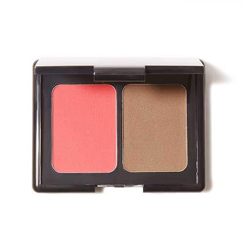 e.l.f. Aqua Beauty Blush and Bronzer, 57037 Bronzed Peach