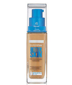 MAYBELLINE Superstay Better Skin Foundation, 45 Sand Beige
