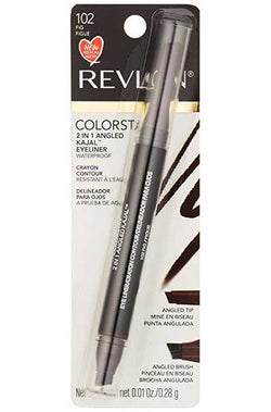 REVLON Colorstay 2 in 1 Angled Kajal Waterproof Eyeliner, 102 Fig