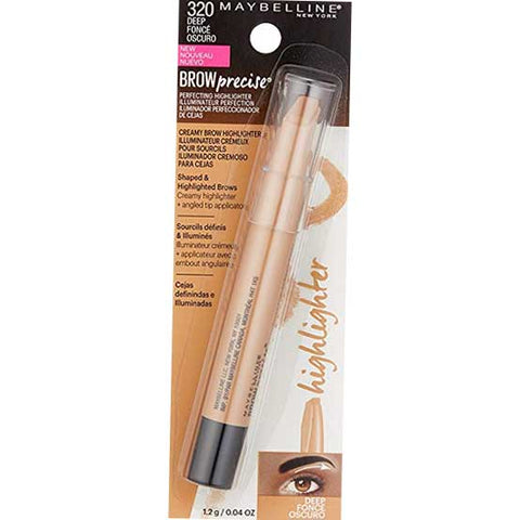 MAYBELLINE Brow Precise Perfecting Highlighter, 320 Deep