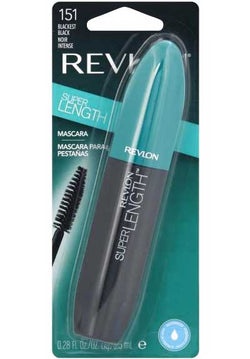 REVLON Super Length WATERPROOF Mascara, 151 Blackest Black