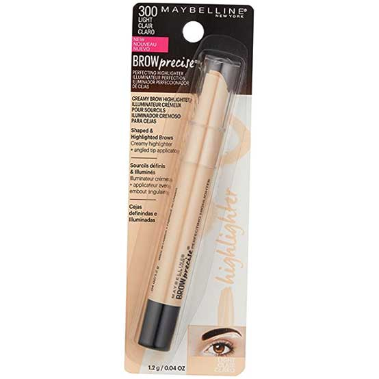 MAYBELLINE Brow Precise Perfecting Highlighter, 300 Light