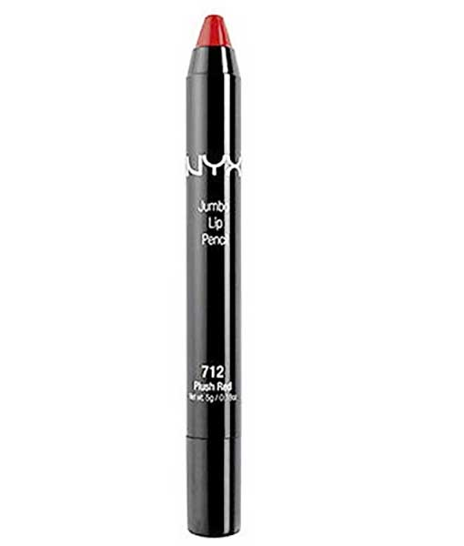 NYX Jumbo Lip Pencil, 712 Plush Red