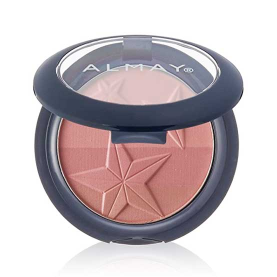 ALMAY Smart Shade Powder Blush, 20 Nude/Mauve