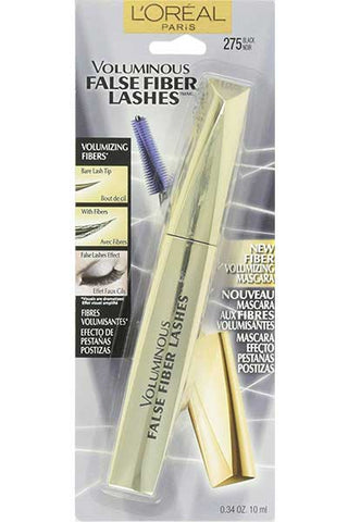 LOREAL Voluminous False Fiber Lashes Mascara, 275 Black