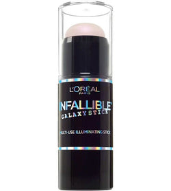 LOREAL Infallible Galaxy Illuminating Stick, 12 Cosmic Pink