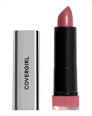 COVERGIRL Exhibitionist Metallic Lipstick, 520 Cant Stop