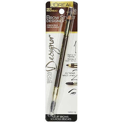 LOREAL Brow Stylist Designer Eyebrow Pencil, 315 Dark Brunette