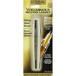 LOREAL Voluminous Million Lashes Mascara, 655 Black Brown