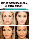 REVLON Photoready Kajal Matte Eye Pencil, 304 Matte Marine