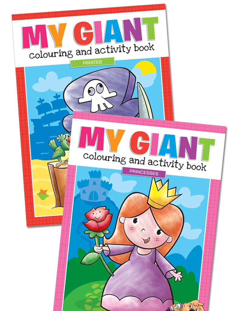 My Giant Coloring & Activity Books